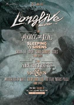 LONGLIVE ROCKFEST [Villeurbanne - 69] > 12-06-2017