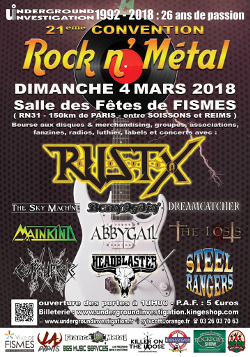 21ème Convention Rock n'Metal @ Fismes